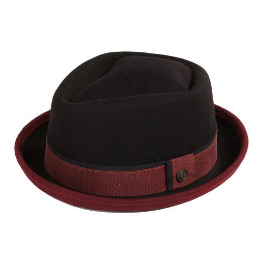 bede6fcf Buy Edward Black/Burgundy Hat Online at £60 from Dasmarca